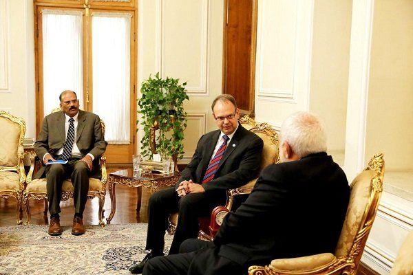 رئیس جدید دفتر فائو با ظریف در ایران دیدار کرد