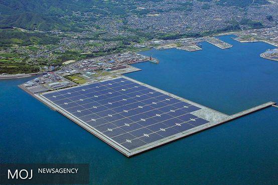 صفحات خورشیدی شناور در آب تولید شد