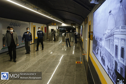 افتتاح زیرگذر چهار راه گلوبندک