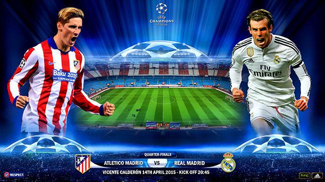 ساعت بازی رئال مادرید و اتلتیکومادرید مشخص شد