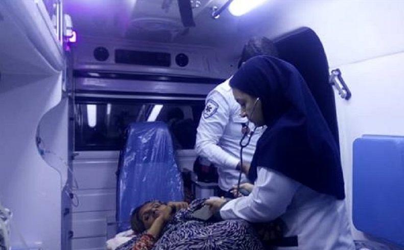 نجات جان مادر باردار در حاجی آباد