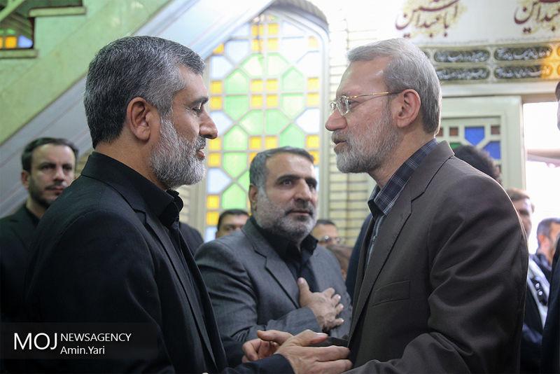 برگزاری مراسم بزرگداشت درگذشت پدر سردار حاجی زاده با حضور مسئولان لشکری و کشوری