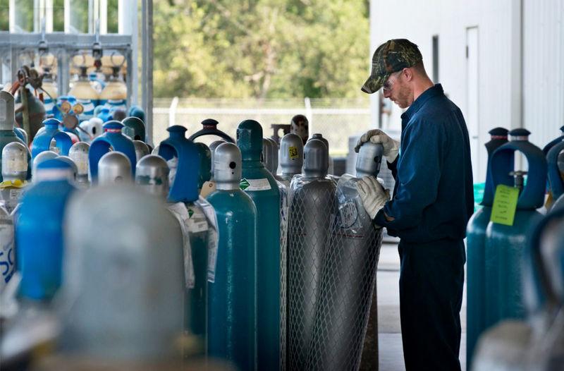 کارخانه اکسیژن سفیدکوه خرم آباد به بیماران کرونایی اکسیژن رایگان میدهد
