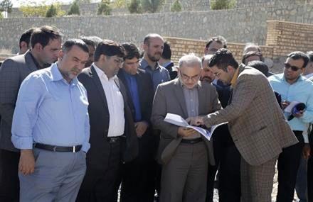 افتتاح و کلنگ زنی طرح های عمرانی بخش سلفچگان به مناسبت هفته دولت