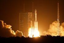 چین موشک فضایی را با موفقیت پرتاب کرد