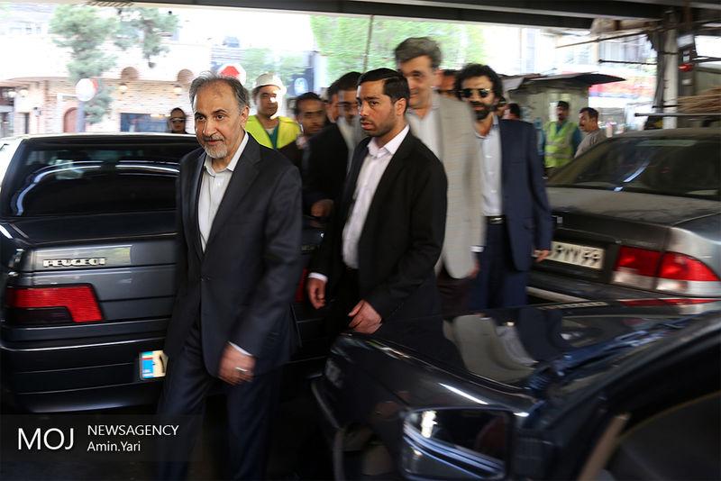 شهردار تهران دوباره استعفا داد