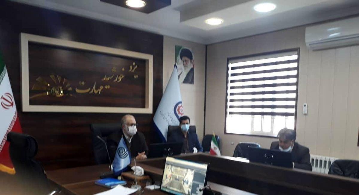 سومین جلسه شورای مدیریت مراکز آموزش فنی و حرفه ای استان یزد برگزار شد