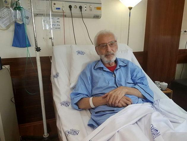عیادت استاندار تهران از جمشید مشایخی