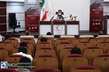 نشست خبری رییس جمعیت هلال احمر - ۱۶ اردیبهشت ۱۳۹۹