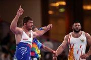 پرویز هادی به مدال برنز رقابت های قهرمانی آسیا رسید