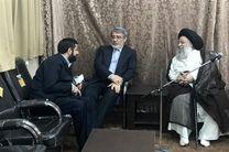 وزیر کشور با نماینده ولی فقیه در خوزستان دیدار کرد