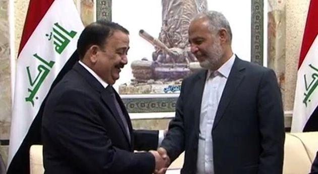 دیدار معاون وزیر دفاع با وزیر دفاع عراق