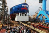 روسیه بزرگ ترین کشتی یخ شکن اتمی دنیا را ساخت