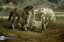 نمایشگاه نقاشی آل علی (ع) اثر حسن روحالامین