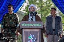 مراسم رژه نیروهای مسلح در گیلان برگزار شد