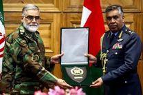 فرمانده نیروی هوایی عمان با امیر سرتیپ پوردستان دیدار کرد