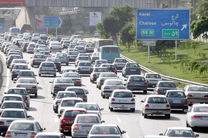 ترافیک در آزاد راه تهران-کرج نیمه سنگین است/بارش باران در اکثر محور های  گیلان
