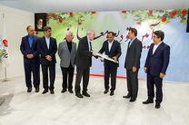 تودیع و معارفه مدیران عامل پیشین و جدید بانک ملت با حضور معاون وزیر اقتصاد