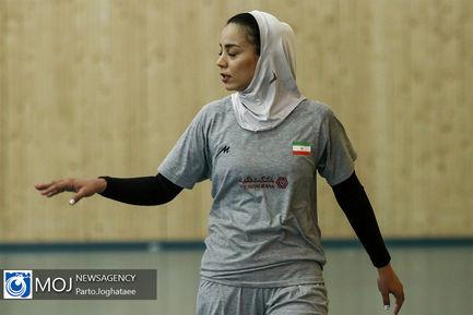 تمرین تیم ملی والیبال بانوان - ۱۸ تیر ۱۳۹۸