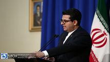 واکنش سخنگوی وزارت امور خارجه به اظهارات مسئول سیاست خارجی اتحادیه اروپا