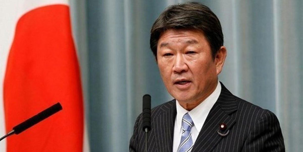تاکید وزیر خارجه ژاپن بر تبادل نظر صریح با ایران