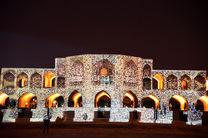 پل تاریخی خواجو برای قدردانی از کادر درمان نورپردازی می شود