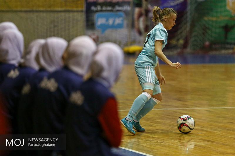 شکست تیم ملی بانوان ایران مقابل روسیه