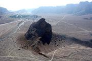 منظر طبیعی عقاب کوه ثبت ملی شد