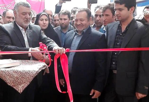 دو طرح گلخانه ای در شهرستان دهاقان افتتاح شد