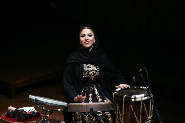 شرکت بانوی نوازنده سازهای کوبه ای ایران در فستیوال سوییسی