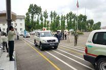 رزمایش نیروهای امدادی مازندران برای خدمات رسانی به مسافران تابستانی