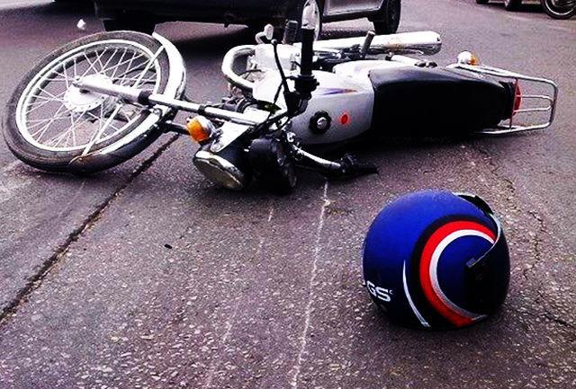 سه کشته براثر برخورد دو موتور سوار در پارسیان