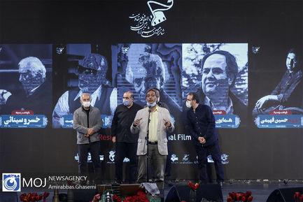 افتتاحیه شانزدهمین جشنواره بین المللی فیلم مقاومت