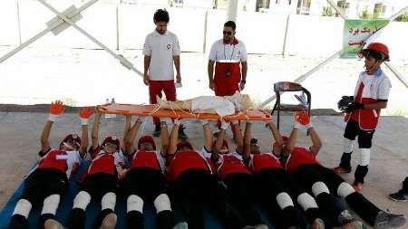 اعزام تیم امدادی دانشآموزان کرمانشاه به مسابقات کشوری