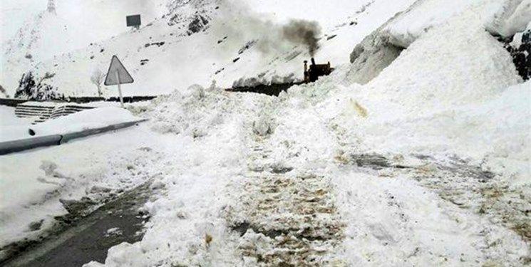 پیش بینی وقوع بهمن و ریزش کوه در محور کرج – چالوس