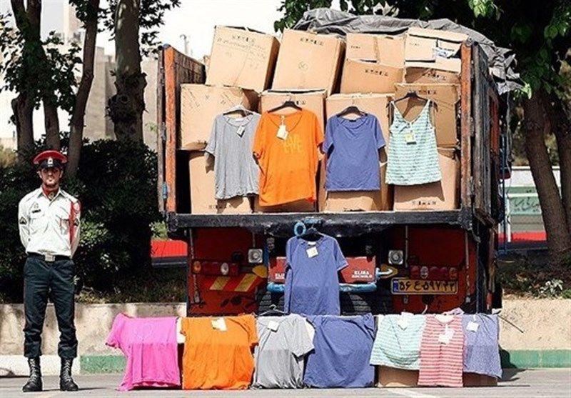 کشف 400 میلیون ریال پوشاک قاچاق در شاهین شهر