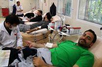 اهداء خون اولین اولویت جا معه ورزشی قم در هفته تربیت بدنی
