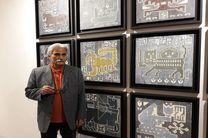 اسکندری: تغییر تکنیک به دلیل آسیب دیدگی آثار در حوزه هنری/فصل مشترک تابلوهایم سنت است