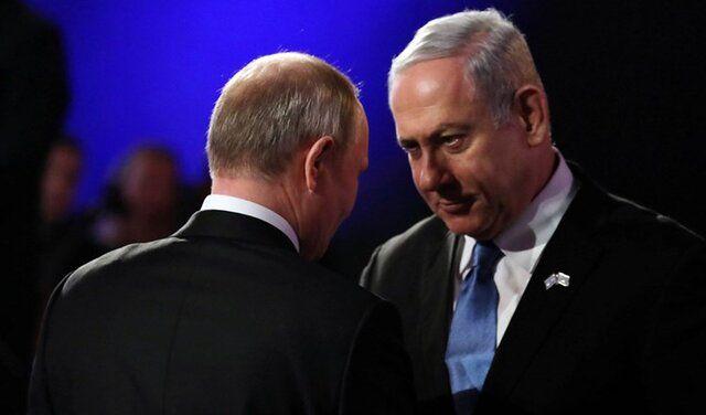 گفت و گوی نتانیاهو و پوتین درخصوص ایران