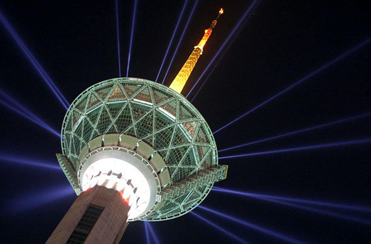 برج میلاد به مناسبت روز جهانی ذات الریه آبی می شود