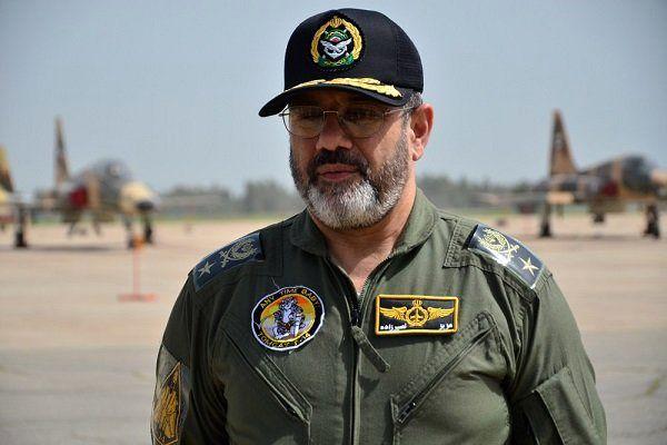 نیروی هوایی ارتش آماده پاسخگویی به تهدیدات را دارد