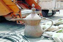 نصب نماد کرامت به مناسب عید فطر