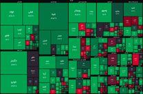 شاخص بورس در جریان معاملات امروز ۲۴ فروردین ۱۴۰۰/ شاخص به یک میلیون و ۲۴۴ هزار واحد رسید