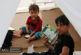 ارسال کتاب و اسباببازی برای کودکان سیلزده