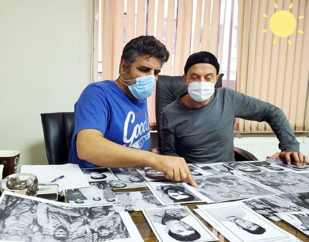 رونمایی از گریم بازیگران سریال «شهیدان باکری» +تصاویر