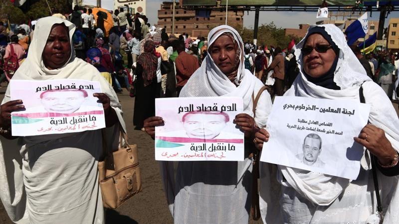 29 نفر به اتهام شکنجه و قتل یک معترض سودانی به اعدام محکوم شدند
