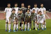 ترکیب تیم ملی فوتبال امید ایران مقابل چین مشخص شد