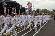 مراسم رژه نیروهای مسلح در رشت برگزار شد