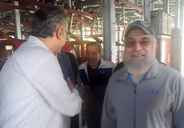 حذف تصاویر حضور روحانی در تله کابین در سایت رسمی توچال +سند