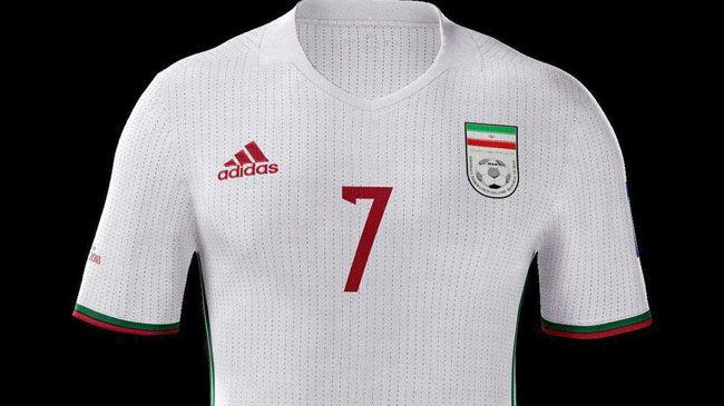 تیم ملی تا اطلاع ثانوی از پیراهن قبلی استفاده می کند